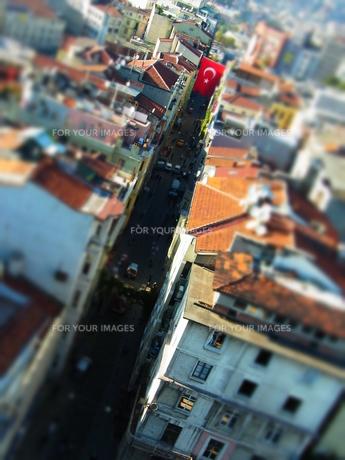 イスタンブールの通りの写真素材 [FYI00177936]