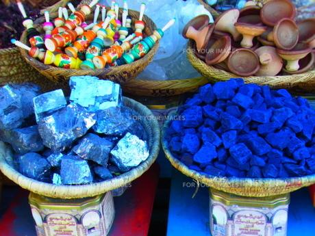 モロッコの市場の素材 [FYI00177972]