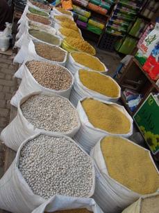 モロッコの市場の写真素材 [FYI00177981]