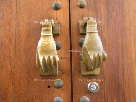 モロッコのドアの素材 [FYI00178001]