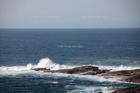 西オーストラリアの海岸−波しぶきの素材 [FYI00178175]