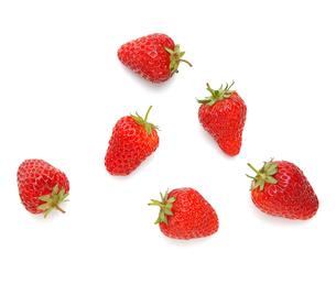 イチゴ いちご ストロベリー 2の写真素材 [FYI00178209]