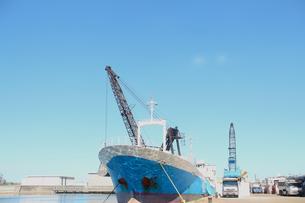 作業船の写真素材 [FYI00178212]