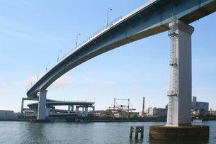 ループ橋の写真素材 [FYI00178213]