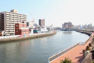 川のある風景の写真素材 [FYI00178220]