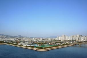 海辺の町風景の写真素材 [FYI00178226]