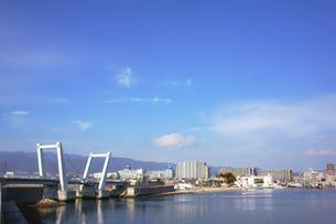 跳ね橋の写真素材 [FYI00178268]
