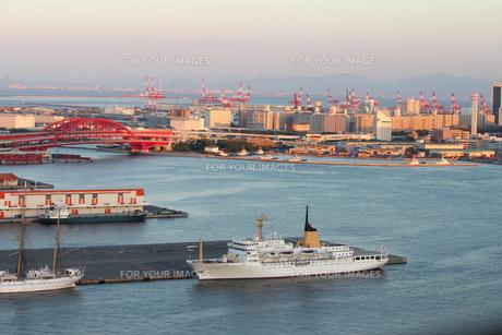 神戸港の写真素材 [FYI00178285]