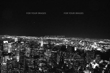 night view @ NYCの写真素材 [FYI00178611]