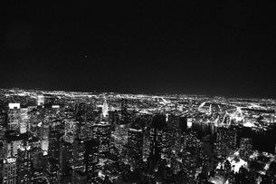 night view @ NYCの素材 [FYI00178611]