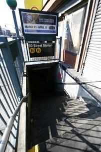 59 Street Stationの写真素材 [FYI00178670]