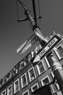 ONE WAYの写真素材 [FYI00178686]