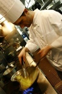 イタリアの料理人の写真素材 [FYI00178707]