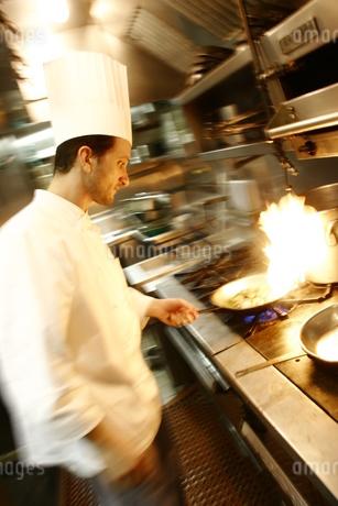 イタリアの料理人の写真素材 [FYI00178711]