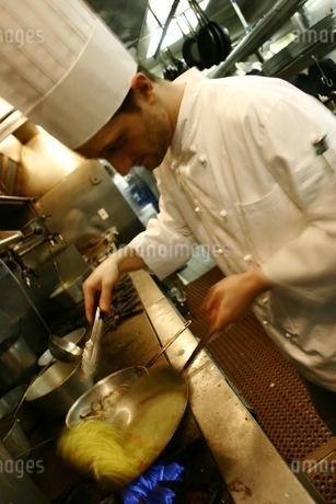 イタリアの料理人の写真素材 [FYI00178712]