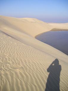 砂漠 海 影の写真素材 [FYI00178725]