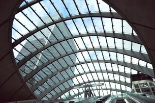 カナリワーフ駅の写真素材 [FYI00178751]