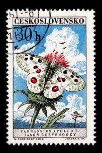 切手の写真素材 [FYI00178880]