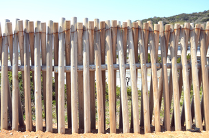 塀の写真素材 [FYI00179005]