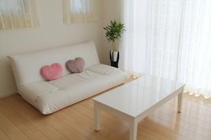 リビングルームとソファの写真素材 [FYI00179290]