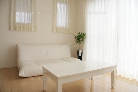 リビングルームとソファの写真素材 [FYI00179292]