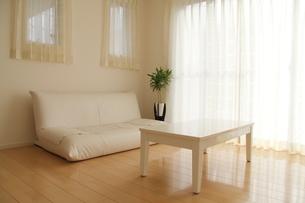 リビングルームとソファの写真素材 [FYI00179301]