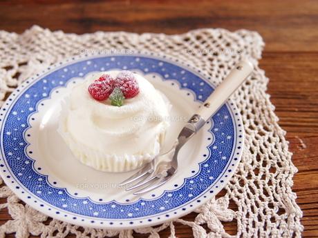フロマージュブランのケーキの写真素材 [FYI00179412]