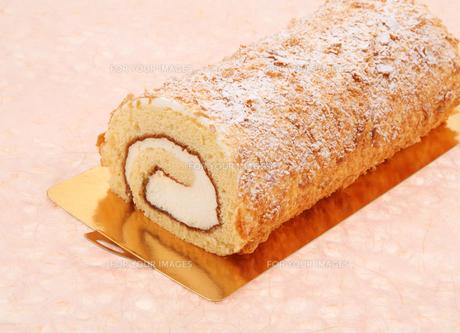 ロールケーキの写真素材 [FYI00179665]