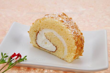 ロールケーキの写真素材 [FYI00179671]