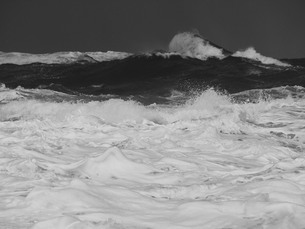 波のテクスチャーの写真素材 [FYI00179757]
