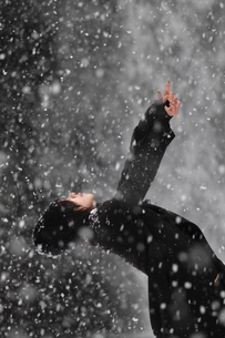 雪の舞の写真素材 [FYI00179898]