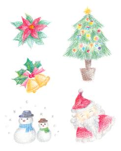 クリスマスイラストの写真素材 [FYI00180027]