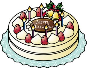 クリスマスケーキの写真素材 [FYI00180037]