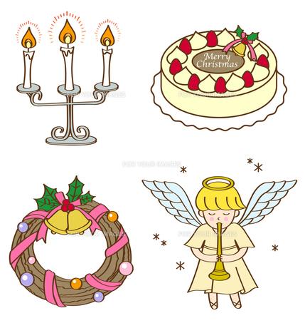 クリスマスイラストの写真素材 [FYI00180050]