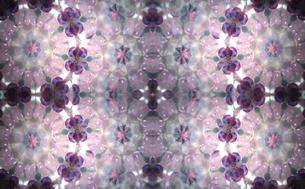 薄紫の花 万華鏡の写真素材 [FYI00180446]