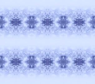 雪のモチーフ パターンの写真素材 [FYI00180470]