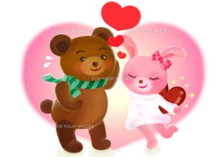 バレンタインの告白の写真素材 [FYI00180501]