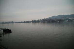 ドイツの川沿いの写真素材 [FYI00180569]