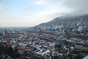ドイツ ハイデルベルク城周辺の写真素材 [FYI00180609]