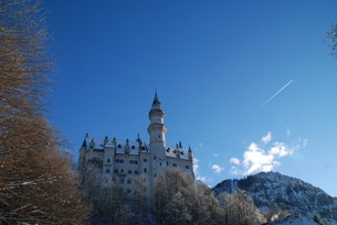 ドイツ ノイシュヴァンシュタイン城の写真素材 [FYI00180614]