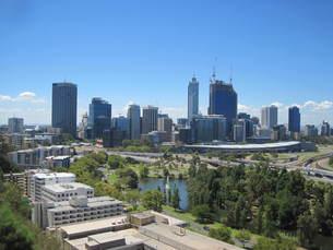 オーストラリア:楽園都市パースの風景の写真素材 [FYI00180799]