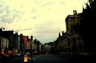オックスフォードのメインストリートの写真素材 [FYI00180834]