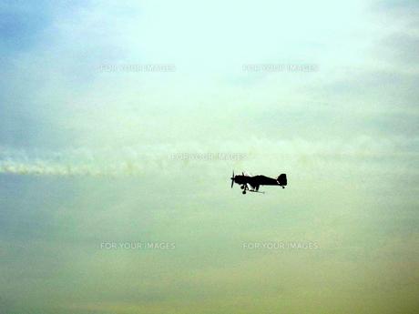 小型飛行機の素材 [FYI00180850]
