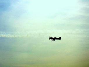 小型飛行機の写真素材 [FYI00180850]