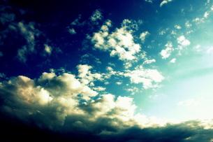 青空と雲の素材 [FYI00180872]