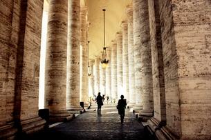バチカンの廊下の写真素材 [FYI00180956]