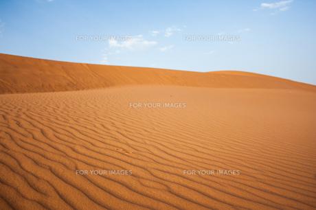 モロッコ メルズーガのサハラ砂漠の素材 [FYI00180993]