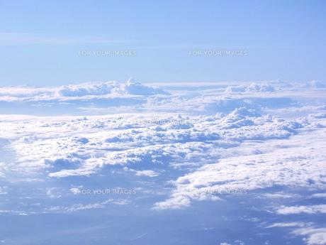 雲の絨毯の素材 [FYI00181143]