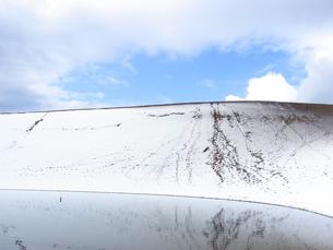 雪の鳥取砂丘の素材 [FYI00181215]