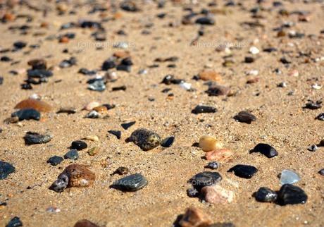 海の小石の素材 [FYI00181247]